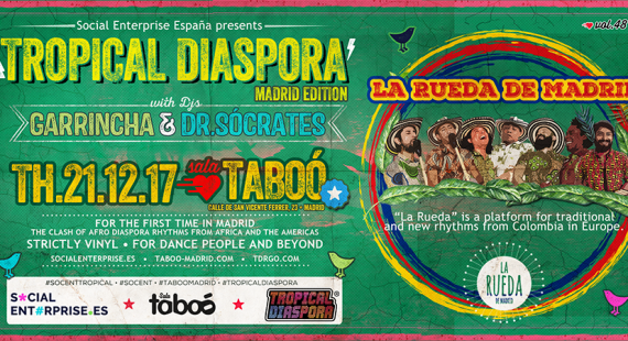 #TROPICALSOCENT – Tropical Diaspora Party – Madrid Edition