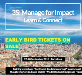 3S: Manage for Impact Barcelona
