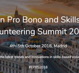 European Pro Bono Volunteering Summit