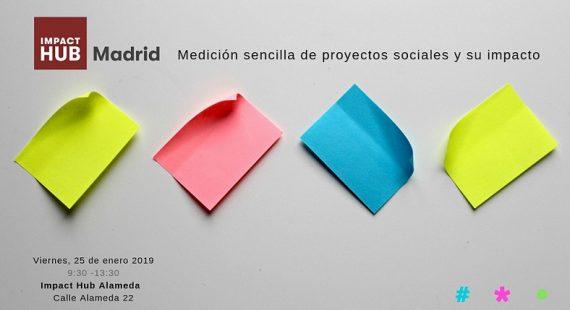 Impact Hub Madrid – Medición sencilla de proyectos sociales y su impacto