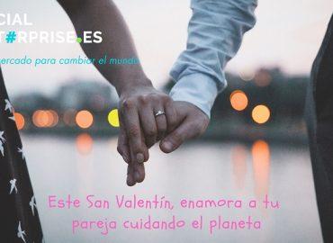 Cinco regalos de San Valentín para enamorar a tu pareja cuidando el planeta