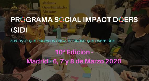 10ª Edición del Programa Social Impact Doers (SID)