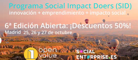 6ª Edición del Programa Social Impact Doers (SID)