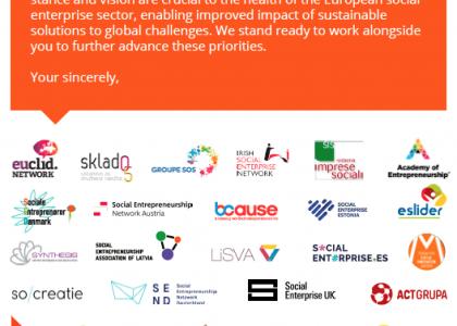 Carta a los MPs europeos: Impulsad el emprendimiento social