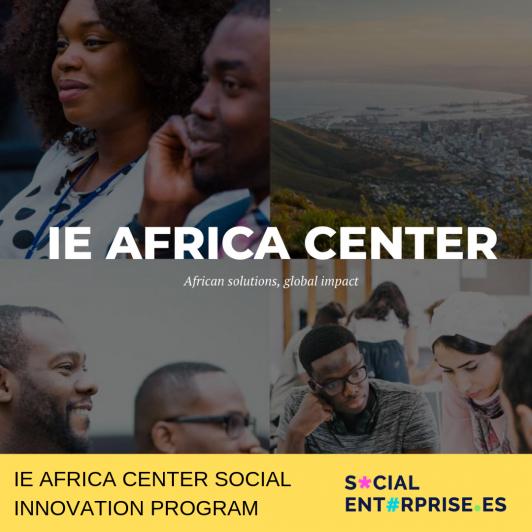IE AFRICA CENTER SOCIAL INNOVATION PROGRAM