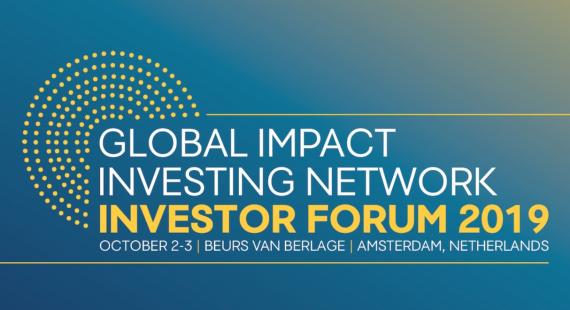 Impact Investor Forum 2019 – Amsterdam
