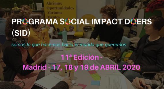 11ª Edición del Programa Social Impact Doers (SID)