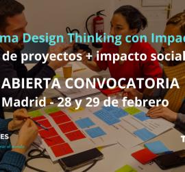 Programa Design Thinking con Impacto (DTI)